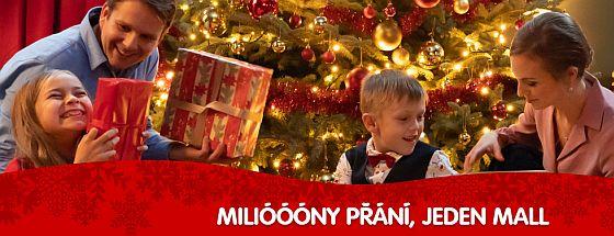 Soutěž o poukazy k nákupu vánočních dárků v nákupní galerii Mall - www.chytrazena.cz