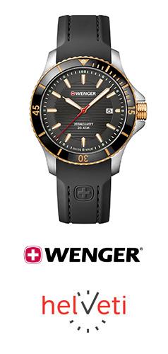 Vyhlašujeme Vánoční soutěž o hodinky Wenger Sea Force 01.0641.126 v hodnotě 5 590 Kč. - www.helveti.cz