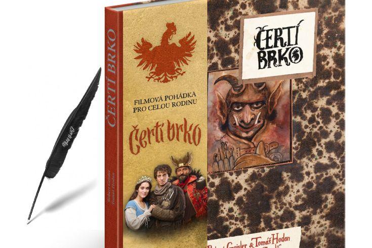Vyhrajte tři knihy Čertí brko a pero s motivem pohádky - www.klubknihomolu.cz