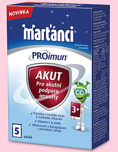 Soutěž o novinku od Marťánků  PROimun Acut pro podporu imunity dětí - www.chytrazena.cz