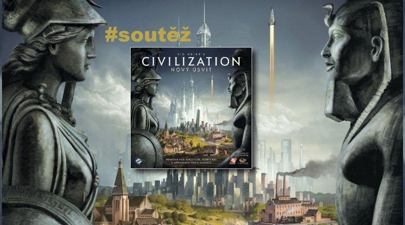 SOUTĚŽ o strategickou deskovou hru Sid Meiers's CIVILIZATION: Nový úsvit - www.chrudimka.cz