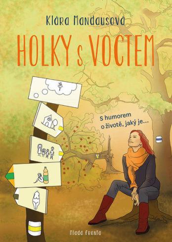 Soutěž o knihu Holky s voctem - www.vasesouteze.cz