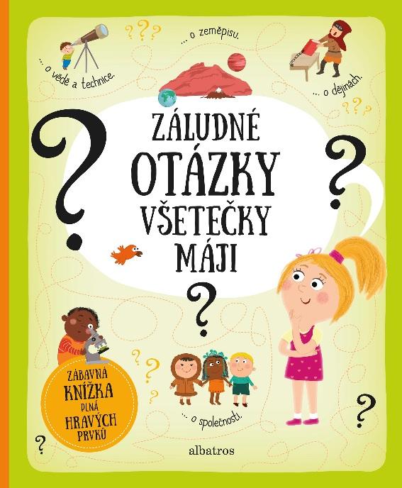 Soutěž o knihu Záludné otázky všetečky Máji - www.vasesouteze.cz