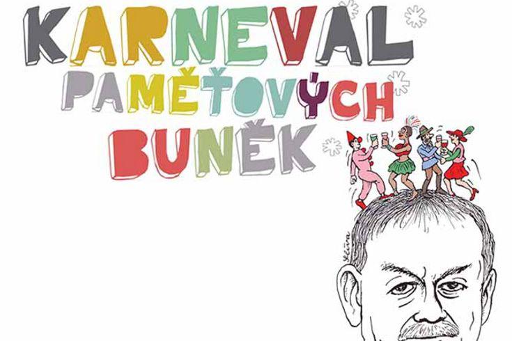 Vyhrajte tři knihy Karneval paměťových buněk - www.klubknihomolu.cz