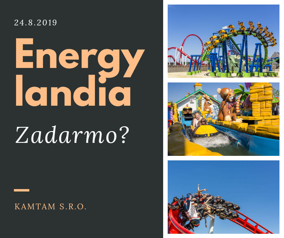 Soutěž o zájezd do zábavního parku Energylandia - kam-tam.cz
