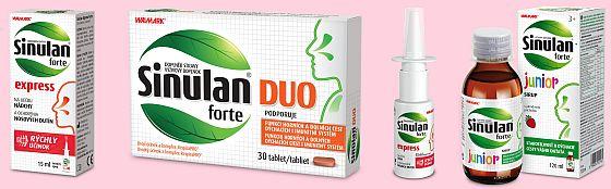 Soutěž o balíček přírodních přípravků Sinulan pro podporu během nachlazení - www.chytrazena.cz