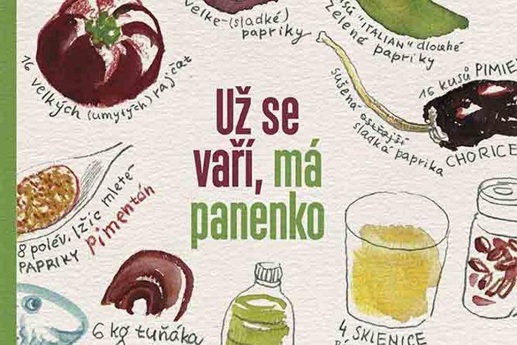 Vyhrajte tři knihy Už se vaří má panenko! - www.klubknihomolu.cz