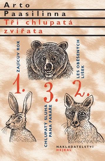 Soutěž o 5 knih Tři chlupatá zvířata - www.vasesouteze.cz