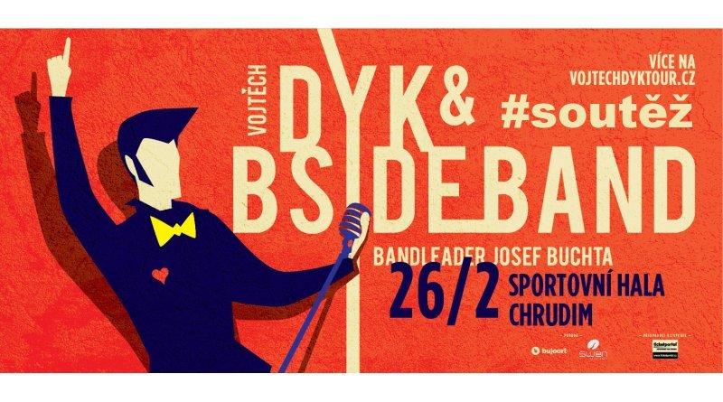 SOUTĚŽ o vstupenky na Vojtu Dyk a B-Side Band v Chrudimi - www.chrudimka.cz