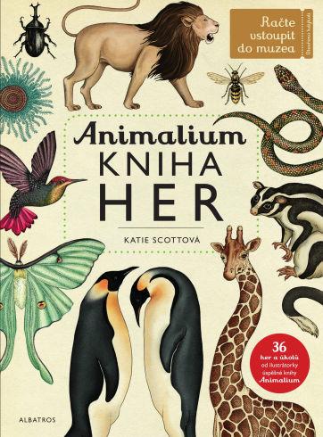 Soutěž o knihu Animalium - Kniha her - www.vasesouteze.cz