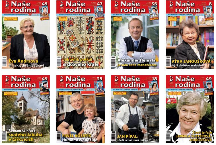 Soutěž o čtvrtletní předplatné týdeníku Naše rodina - www.vasesouteze.cz