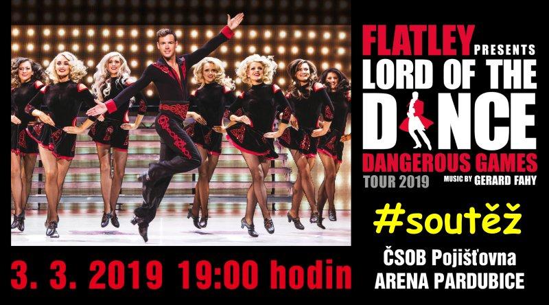 SOUTĚŽ o vstupenky na Lord of The Dance - www.chrudimka.cz