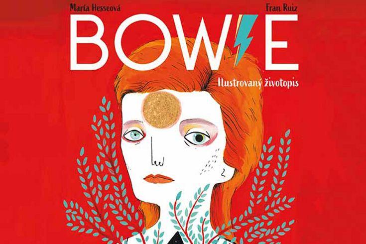 Vyhrajte tři knihy Bowie: Ilustrovaný životopis - www.klubknihomolu.cz