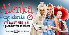 Soutěž o vstupenky na pohádkový muzikál Alenka v kraji zázraků - www.chytrazena.cz