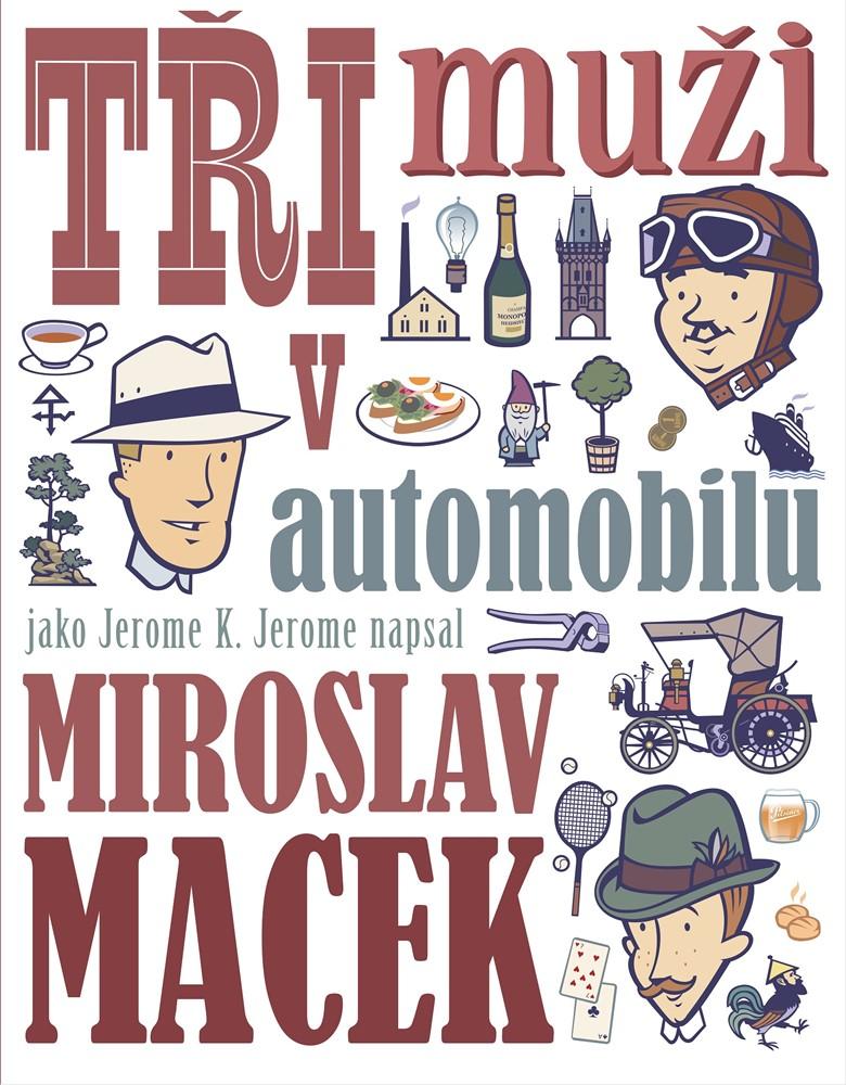 Soutěž o knihu Tři muži v automobilu - www.vasesouteze.cz