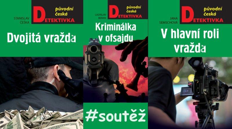 SOUTĚŽ o tři české detektivky - www.chrudimka.cz