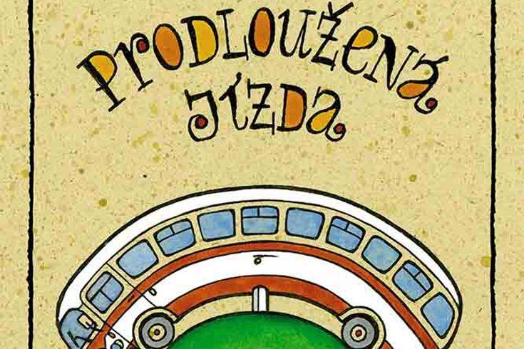 Vyhrajte tři knihy Prodloužená jízda - www.klubknihomolu.cz