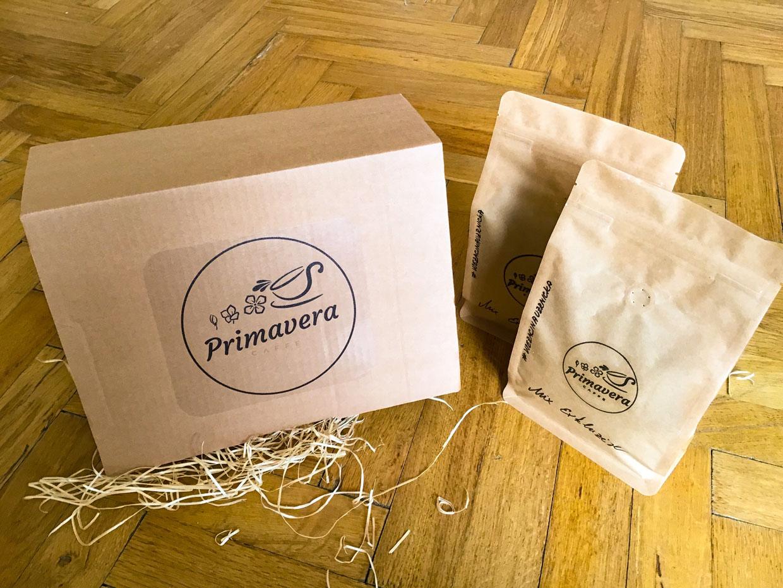 Soutěž o trojici dárkových balíčků kávy Primavera Caffe s překvapením! - https://primaveracaffe.cz/