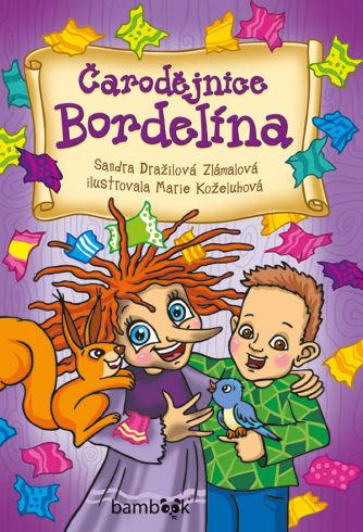 Soutěž o dětskou knížku Čarodějnice Bordelína - www.vasesouteze.cz