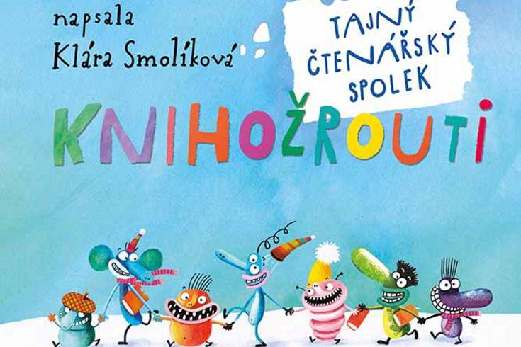 Vyhrajte dvě knihy Knihožrouti: Tajný čtenářský spolek - www.klubknihomolu.cz