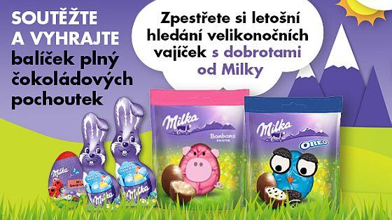 Soutěžte a vyhraje balíček plný čokoládových pochoutek od Milky - www.chytrazena.cz