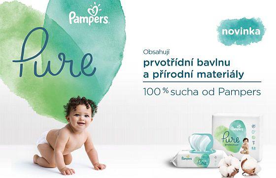 Soutěž o nové produkty Pampers Pure - www.chytrazena.cz