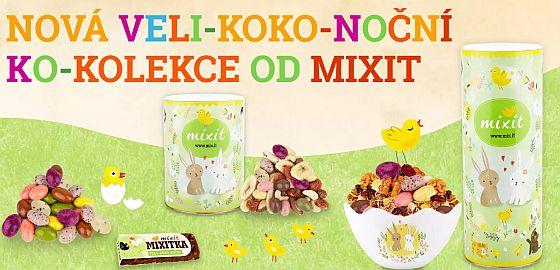 Soutěž o Veli-koko-noční Mix a čokoládová vajíčka od MIXIT - www.chytrazena.cz