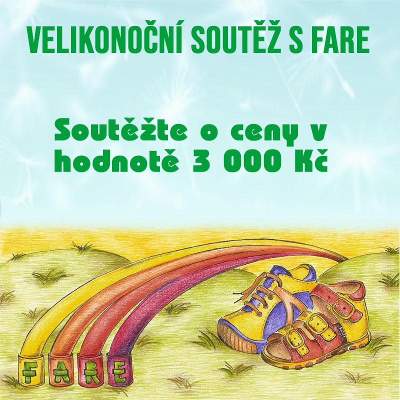 Velikonoční soutěž s FARE o ceny v hodnotě  3 000 KČ - www.fare.cz