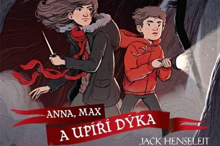 Vyhrajte dvě knihy Čarodějná hodina: Anna Max a Upíří dýka - www.klubknihomolu.cz