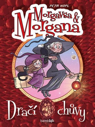 Soutěž o komiksovou knihu Morgana a Morgavsa: Dračí chůvy - www.vasesouteze.cz