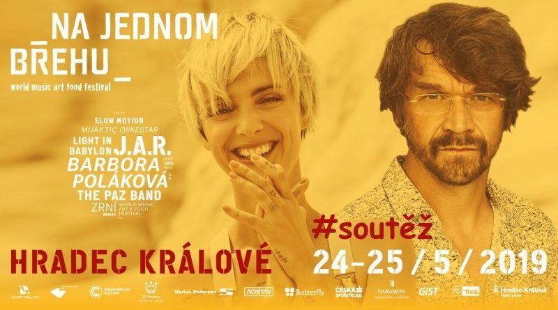 SOUTĚŽ o vstupenky na festival NA JEDNOM BŘEHU - www.chrudimka.cz
