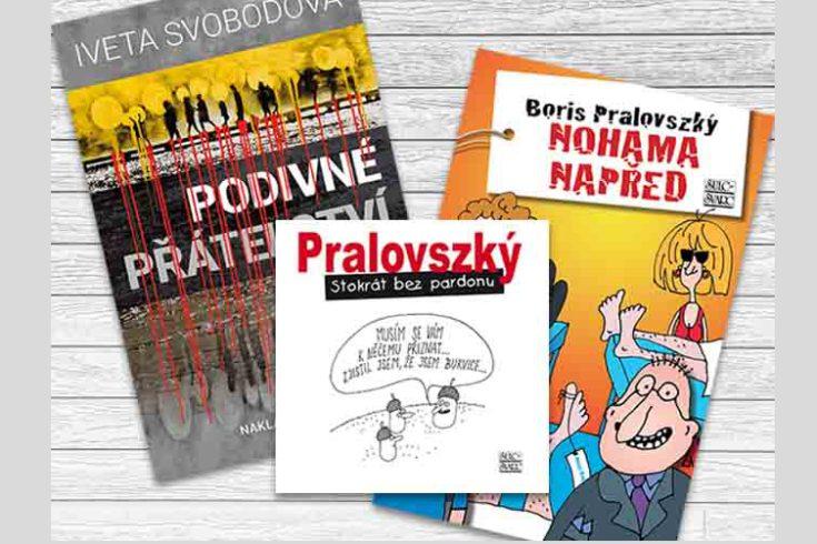 Vyhrajte jednu knihu dle vlastního výběru - www.klubknihomolu.cz