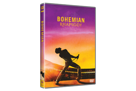 DVD Bohemian Rhapsody - www.ireport.cz