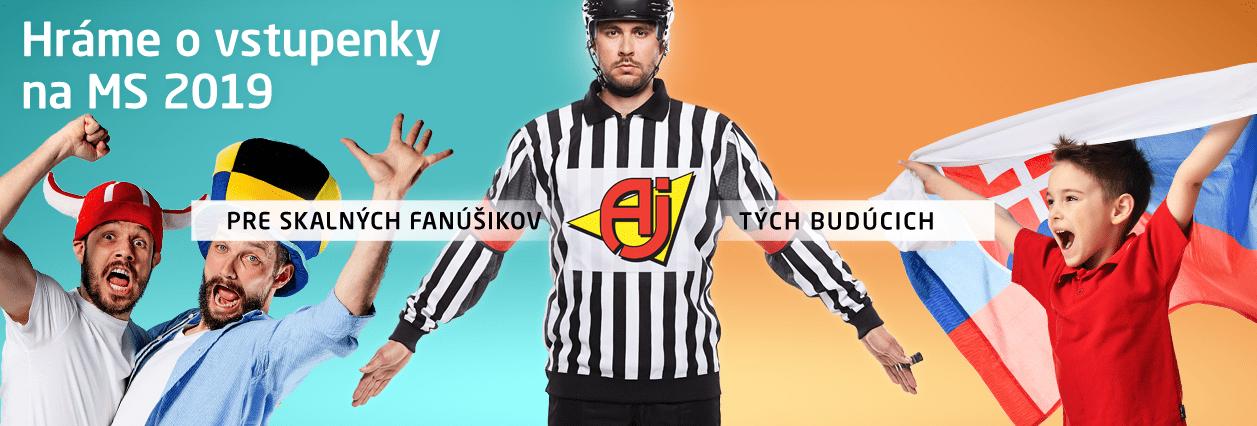 Súťaž o vstupenky na MS v hokeji | AJProdukty.sk - https://ajprodukty.sk/