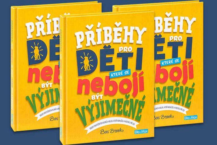 Vyhrajte tři knihy Příběhy pro děti které se nebojí být výjimečné - www.klubknihomolu.cz