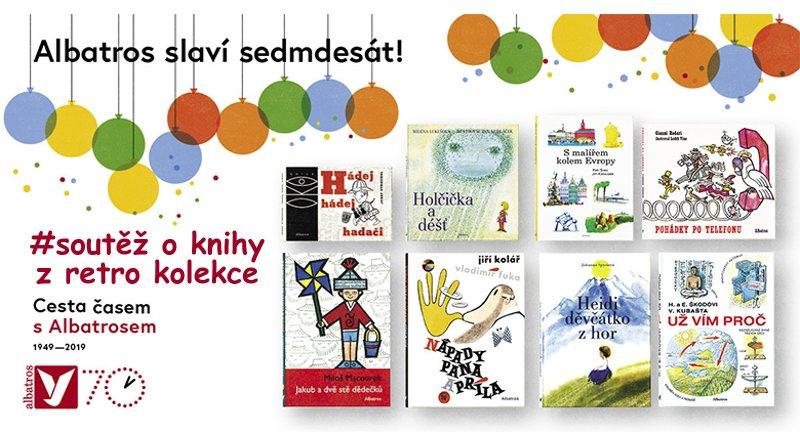 SOUTĚŽ o retro kolekci knih Cesta časem s Albatrosem - www.chrudimka.cz