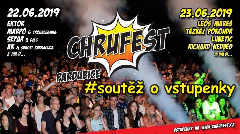 SOUTĚŽ o vstupenky na ChruFest Open Air Festival - www.chrudimka.cz