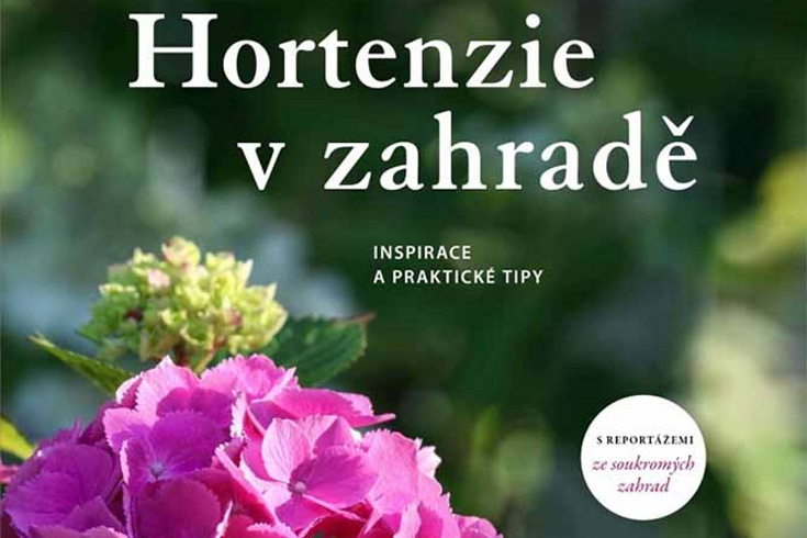 Vyhrajte dvě knihy Hortenzie v zahradě - www.klubknihomolu.cz