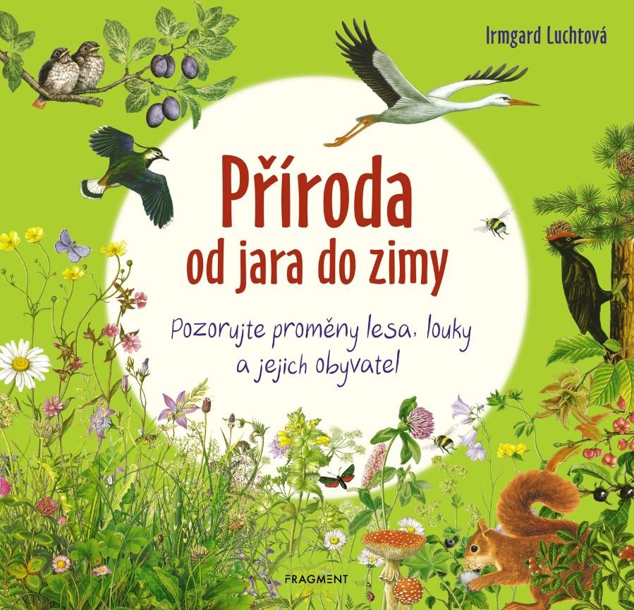Soutěž o knihu Příroda od jara do zimy - www.vasesouteze.cz