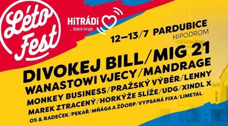 SOUTĚŽ o vstupenky na LÉTO FEST Pardubice - www.chrudimka.cz