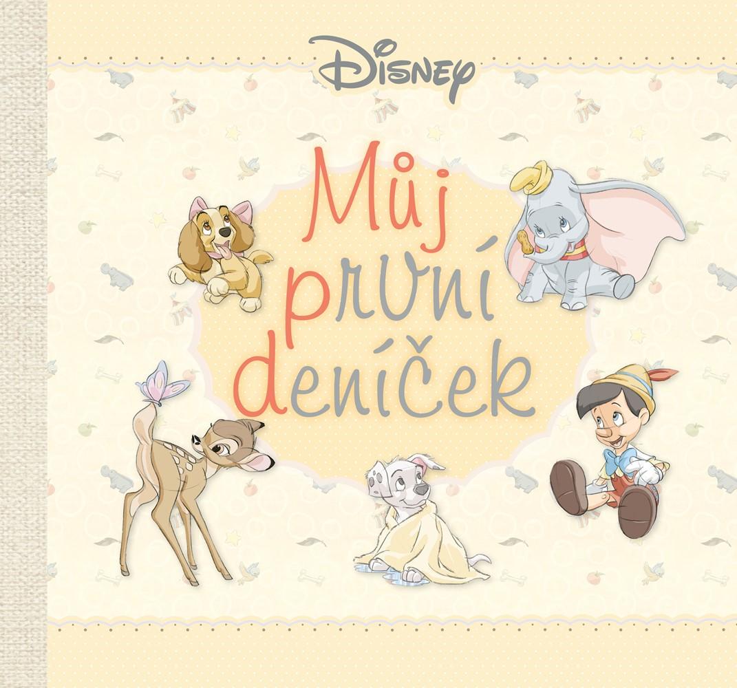 Soutěž o knihu Disney  Můj první deníček - www.vasesouteze.cz