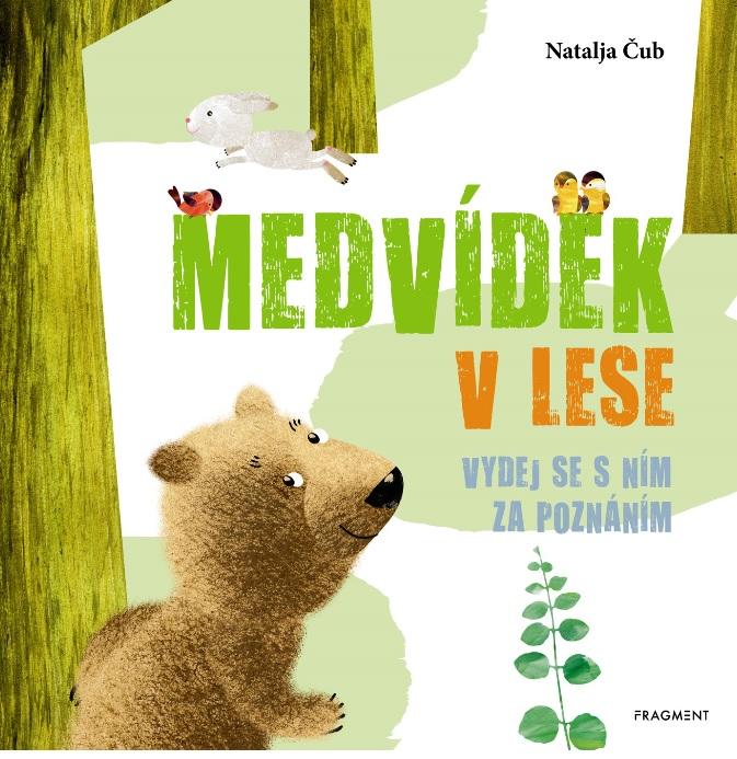 Soutěž o knihu Medvídek v lese - www.vasesouteze.cz
