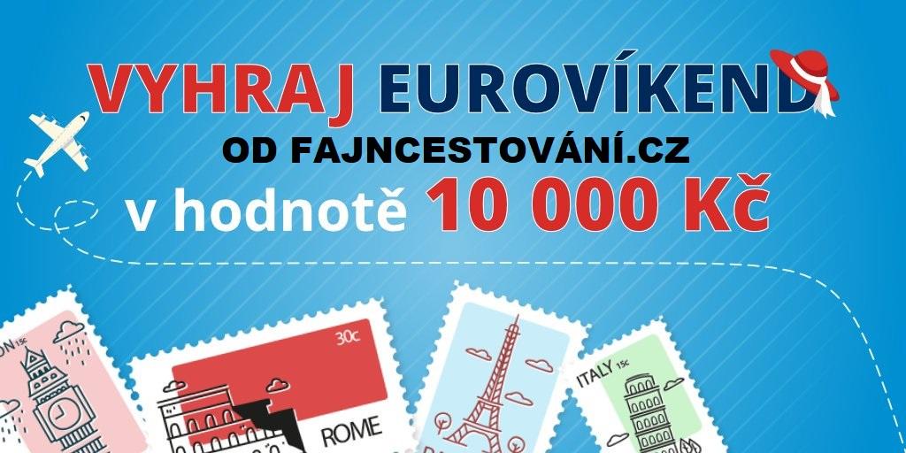 Vyhraj eurovíkend od FajnCestování.cz v hodnotě 10.000 Kč - www.fajncestovani.cz
