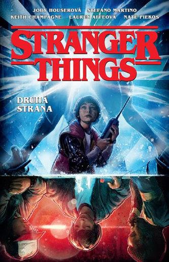 Soutěž o komiks Stranger Things - www.lukbook.cz