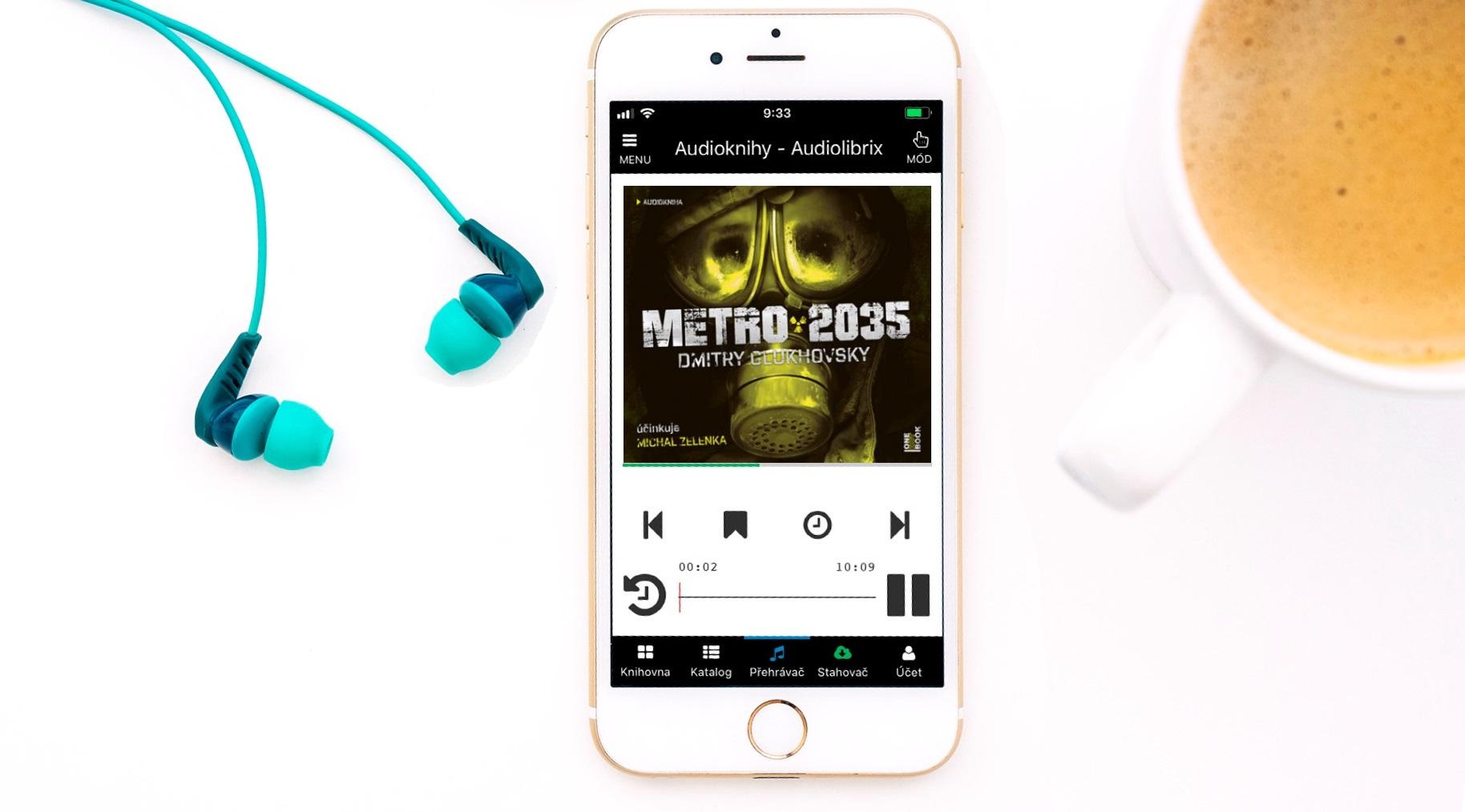 Soutěž o audioknihu Metro 2035 - www.vasesouteze.cz