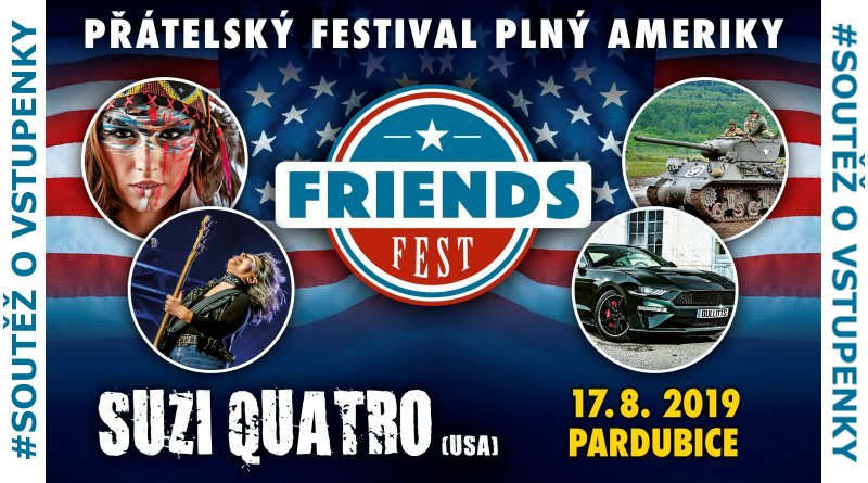 SOUTĚŽ o vstupenky na FRIENDS FEST 2019 - www.chrudimka.cz