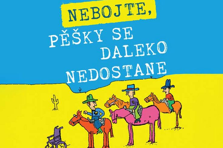 Vyhrajte dvě knihy Nebojte pěšky se daleko nedostane - www.klubknihomolu.cz