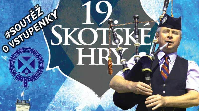 SOUTĚŽ o vstupenky na Skotské hry 2019 - www.chrudimka.cz