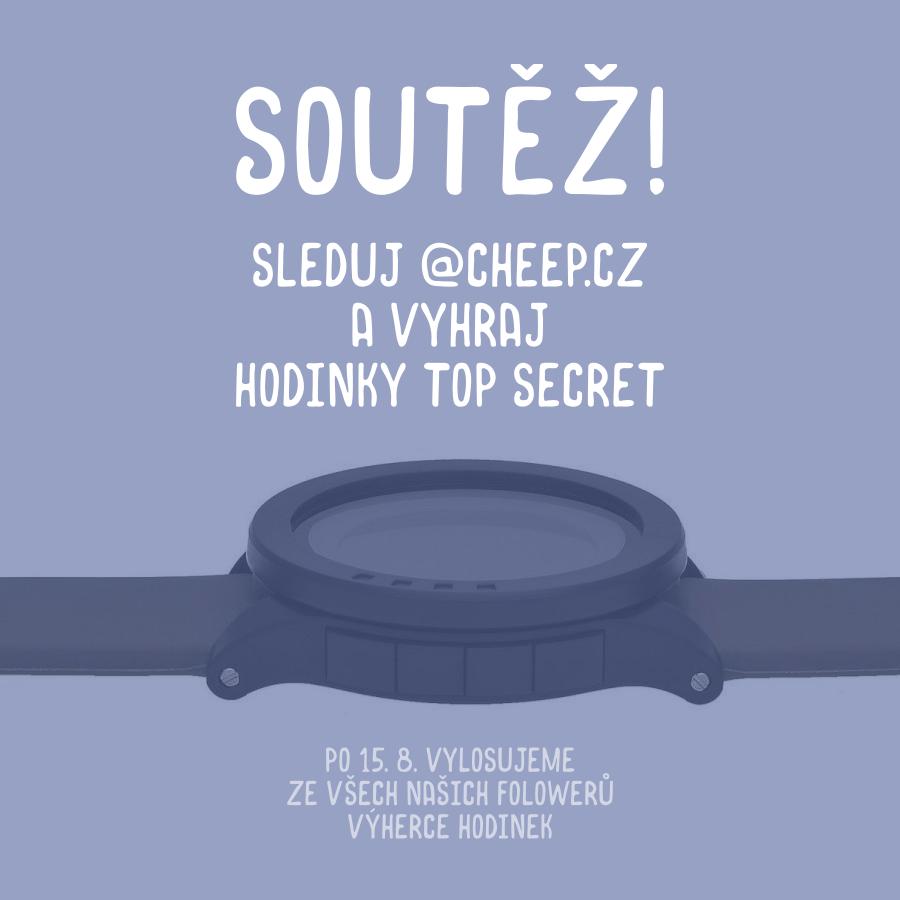 Soutěž o hodinky - www.cheep.cz