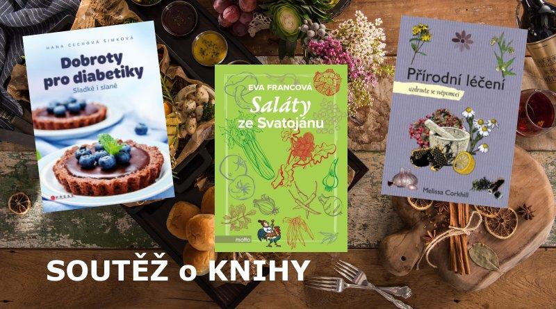 SOUTĚŽ o tři knihy o jídle a o zdraví - www.chrudimka.cz